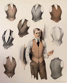 1913 men's vests advertisement.