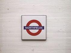 Stazione di Northfields - #London #Tube #Londra