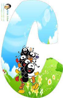 Alfabeto con hormigas. | Oh my Alfabetos!