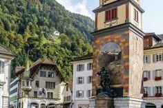 Ausflugsziele Schweiz: 99 Ideen für einen tollen Tagesausflug Places To Visit, Germany, Earth, Mansions, House Styles, City, Travel, Fitness Workouts, Home Decor