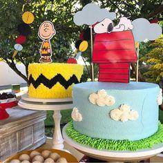 """954 curtidas, 8 comentários - Blog Oficial® - Festa Infantil (@dentrodafesta) no Instagram: """"Bolo inspiração para festa Snoopy by @joliepatisserienatal #DentroDaFesta . .…"""""""