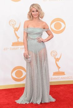 @roressclothes clothing ideas #women fashion Julianne Hough: Sparking Off-the-Shoulder Dress by Jenny Packham