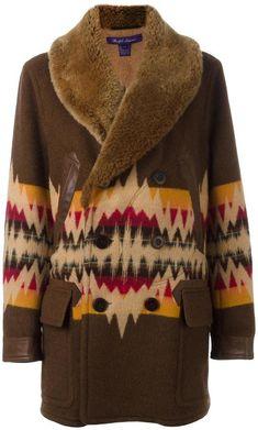 Ralph Lauren aztec pattern coat- 7112style.website -