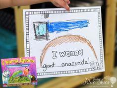 I Wanna Iguana Activities - First Grade Blue Skies