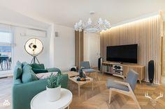 Konkurs - Salon, styl minimalistyczny - zdjęcie od KRUBA DESIGN
