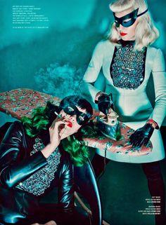 V Magazine #89 Summer 2014   Katy Perry & Madonna by Steven Klein  [Editorial]