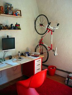 自転車ラック,自転車置き場,室内