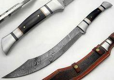 Masqa-Knives-Kukri-Damascus-Steel-Twisted-Pattern-Sharp-Edge-Blade