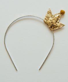 shopminikin - Namhee Crown Headband, Gold, $32.00 (http://www.shopminikin.com/namhee-crown-headband-gold/)
