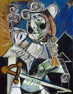 The Matador (le Matador) Artwork by Pablo Picasso Hand-painted and Art Prints on canvas for sale,you can custom the size and frame