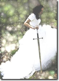 Bride of Christ with sword, prophetic art. Warrior Princess, Gods Princess, Christian Warrior, Christian Art, Christian Marriage, Daughters Of The King, Daughter Of God, Braut Christi, Bride Of Christ