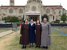 Sisters of St. Francis of Perpetual Adoration in DC for Papal Visit