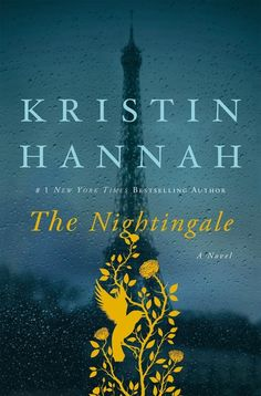 The Nightingale by Kristin Hannah | The second book for the Marvel-A-Thon fulfills the Captain America challenge as it is set in WWII France | Listening via audiobook