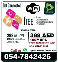 30 Best Etisalat Elife Home Wifi Internet latest offers: images in