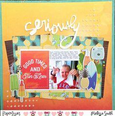Paper Issues: Product Spotlight: Carta Bella Beach Day