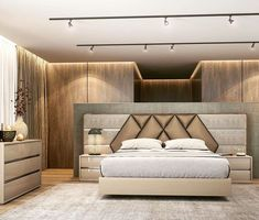Nightstands, beds, side tables, cabinets or armchairs are some of the luxury bedroom furniture tips that you can find. Every detail matters when we are decorating our master bedroom, right? Bedroom Furniture Design, Bed Design Modern, Bedroom Cupboard Designs, Bed Furniture Design, Bedroom False Ceiling Design, Bedroom Closet Design, Luxury Bedroom Furniture, Bedroom Design, Bedroom Bed Design
