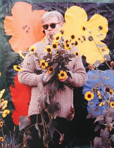 andy warhol in full bloom️More Pins Like This At FOSTERGINGER @ Pinterest♓️