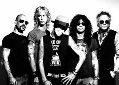 Velvet Revolver-wish they would find a new singer!!!!