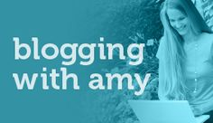 Great help for bloggers.  blogging-with-amy