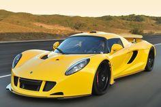 The 15 most expensive cars of 2012 - Hennessey Venom GT cars vs lamborghini sports cars cars sport cars Maserati, Lamborghini, Ferrari, Lotus Elise, Tesla Roadster, Jeep Willys, Bugatti Veyron, Koenigsegg, Supercars