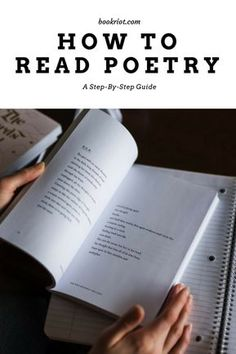 How to read poetry: a step-by-step guide