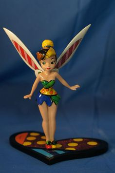 Tinker Bell Britto Resin Figurine Peter Pan Disney Parks #DisneyParksAuthentic