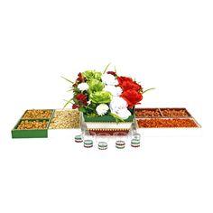 Proyectos |Centro de  mesa con flores fiestas patrias