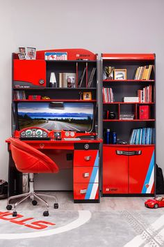 Your child will celebrate their winning lap while studying & daydreaming at this world-class Champion desk !!!