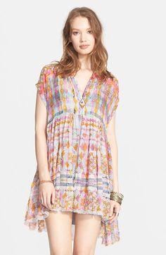 Free+People+Extreme+Shirtdress+available+at+#Nordstrom