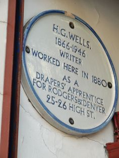This sign appears above a gift shop on the high street now called Thames Street in Windsor, England