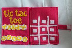 Tic Tac Toe Quiet Book