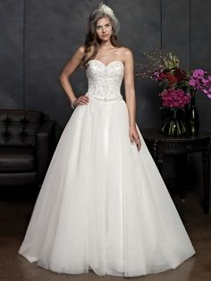 Kenneth Winston Bridal Gown Style - 1538