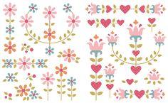 Blog   Tildas World Sewing Appliques, Applique Patterns, Applique Quilts, Applique Designs, Embroidery Applique, Applique Ideas, Farmers Wife Quilt, Quilt Border, Pattern Blocks
