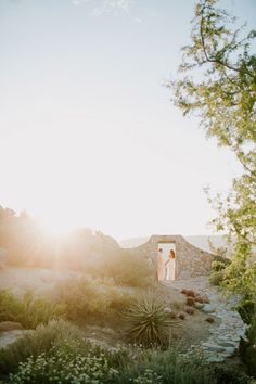 intimate desert bohemian wedding
