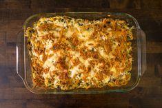 Baked Chicken Spaghetti, Spaghetti Bake, Chicken Spaghetti Casserole, Cheesy Recipes, Veggie Recipes, Chicken Recipes, Veggie Food, Turkey Recipes, Cookbook Recipes