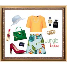 """jungle Babe"" by lenkafen on Polyvore"