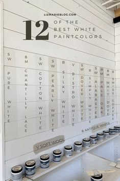 Top White Paint Colors – According To You Best White Paints for any home! Best White Paints for any home! Bedroom Paint Colors, Exterior Paint Colors, Paint Colors For Home, Wall Colors, House Colors, Paint Colours, Magnolia Paint Colors, Garage Paint Colors, Vintage Paint Colors