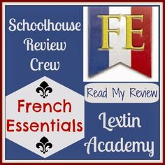 Lextin Academy of Classical Education: {Review Crew} French Essentials