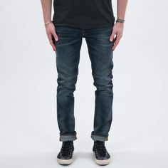 Lean Dean Skinny Tapered Organic Stretch-denim Jeans - Mid denimNudie Jeans Nicekicks Discount tjsuVN