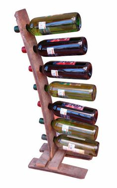 SOLD!!!      Wine rack square base by TequilaBarrelCrafts on Etsy, $80.00