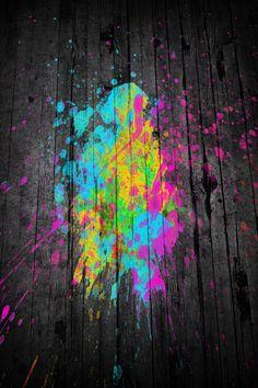 ART!! Splat paint