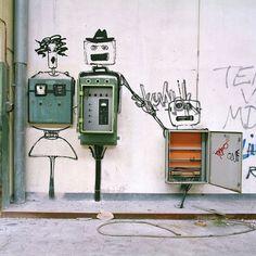 smart street art