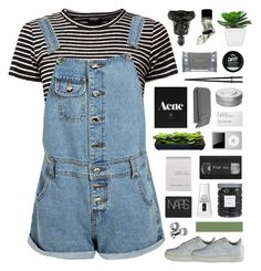 """""""Melissa"""" by moonlightxbby ❤ liked on Polyvore featuring Boohoo, Aesop, NIKE, MTWTFSS Weekday, Threshold, Clinique, NARS Cosmetics, Ex Voto Paris, Dermalogica and Crate and Barrel"""