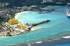Falmouth, Jamaica - Where docked with Royal Caribbean