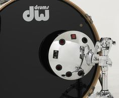 A new take on the classic bass drum mic -- DW's  Moon Mic. Check it out.