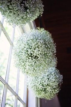 DIY Baby's Breathe, Burlap & Lace Wedding Ideas - Get the DIY tutorial for these Baby's Breath Pomander Balls, perfect to suspend amongst your wedding reception tables ♥ Dream Wedding, Wedding Day, Trendy Wedding, Wedding Rustic, Nautical Wedding, Wedding Blog, Rustic Weddings, Wedding Trends, Garden Wedding