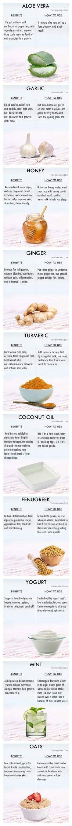 Heal your body with these Kitchen Healers...