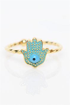 Hamsa Mini Ring