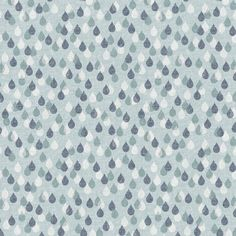 Dashwood Studio Fabrics - Rain Drops from Birdsong by Joanne Cocker. 100% Cotton Fabric. Priced per 1/2 metre. | eBay!