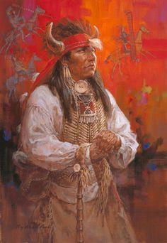 Wolf Tail Kiowa - Roy Anderson